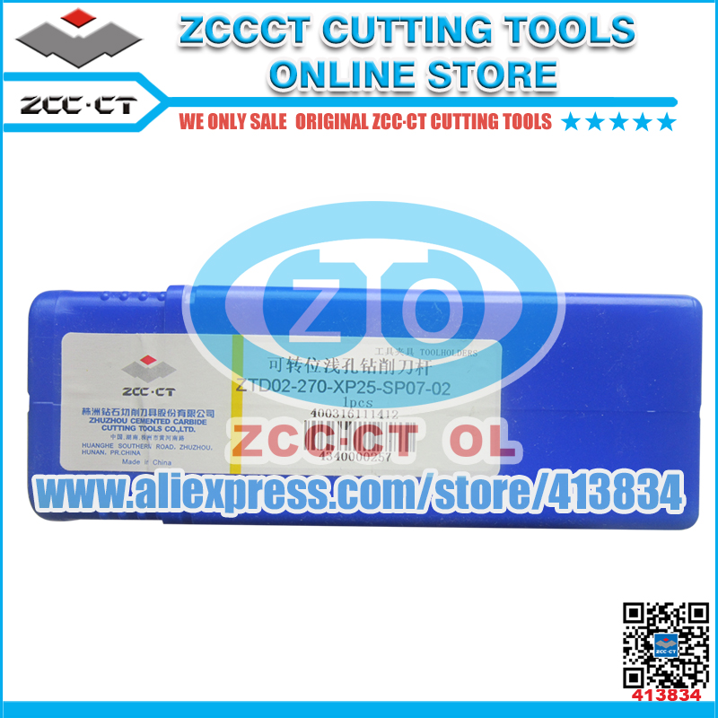 ZTD02-270-XP25-SP07-02 ZCCCT cutting tool shallow drill bit 02