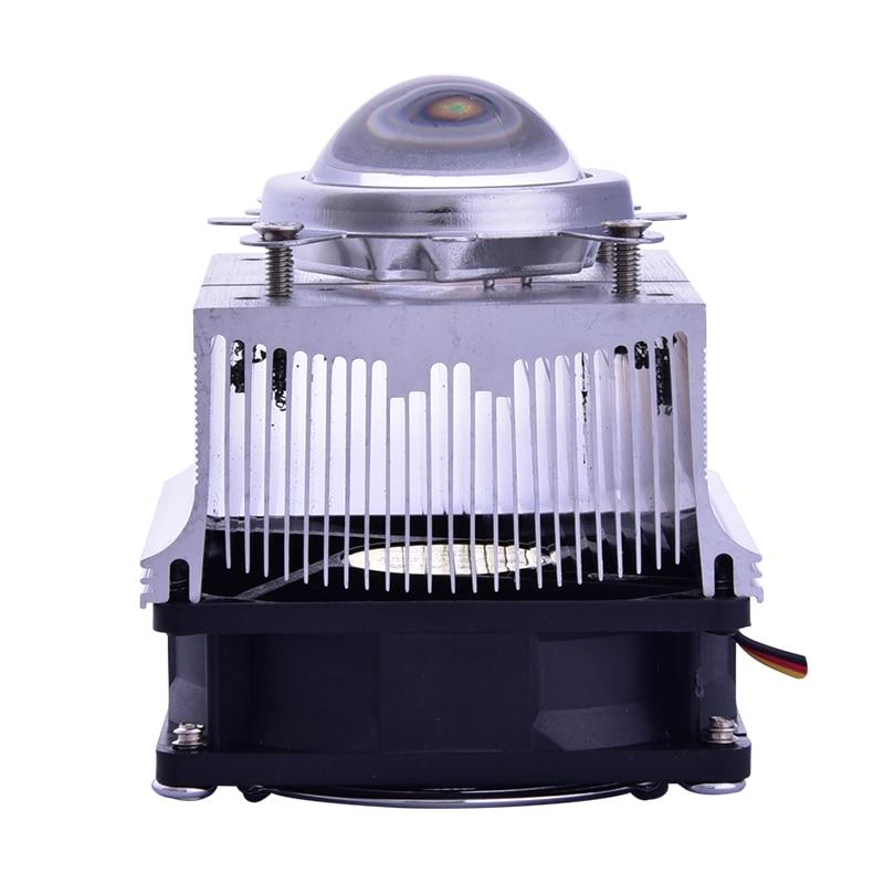 KsGrowl Aluminium Heat Sink Cooling Fan 20-100W Radiator 60-90degree 44mm Lens