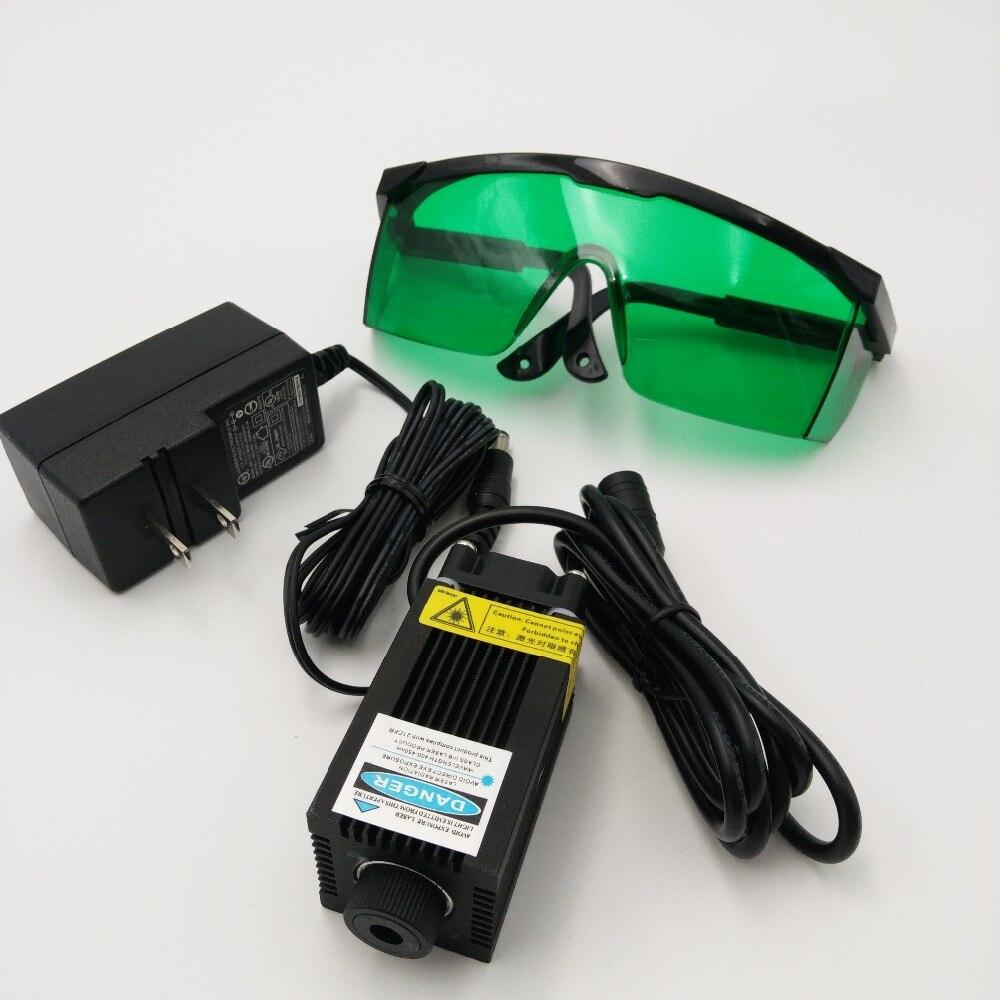 500 МВт 0.5 Вт лазерный модуль фокусировки 405nm Синий Фиолетовый в горошек 12 В для DIY перфорирования маркировка Гравировальный машины