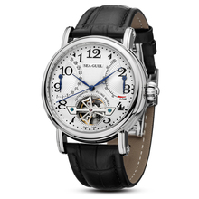 Leisure Automatic Mechanical Genuine Leather Waterproof Watch with Rome Digital Business for Various Occasions M172S.Br leisure automatic mechanical genuine leather waterproof watch with rome digital business for various occasions m163s