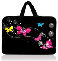 Butterfly Free Shipping Tracking Number 15 15 4 15 6 Inch Laptop Notebook Sleeve Bag Case