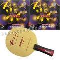 Pro настольный теннис пинг-понг комбо ракетка для игры в настольный теннис Палио энергии 03 лезвие с 2x CJ8000 H38-41 каучуков длинная ручка FL