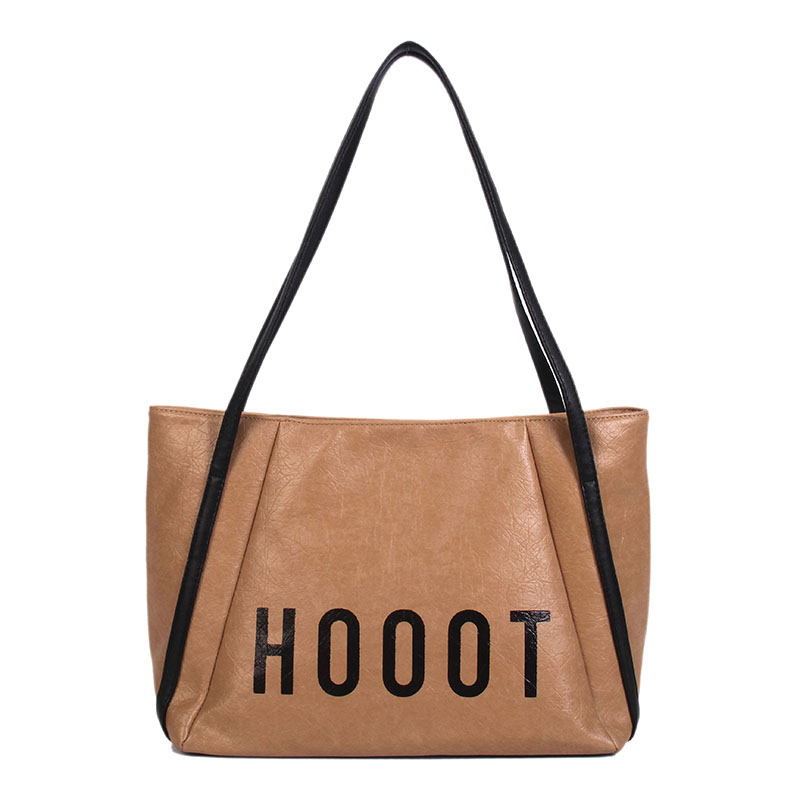 2018 New girl bag Single shoulder pack Handbags Large capacity Tote bag in Shoulder Bags from Luggage Bags