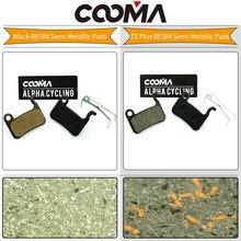 COOMA's Brake pads for SHIMANO XTR M975, M966, M965, Saint M800, Deore XT M776, M775, M765, SLX M665, Disc Brake, 1 Pair(China)