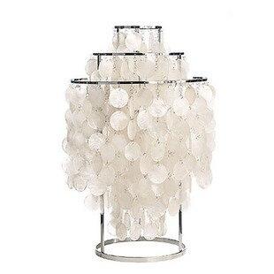 Современный краткое shell настольная лампа Спальня ночники E27 110-240 В