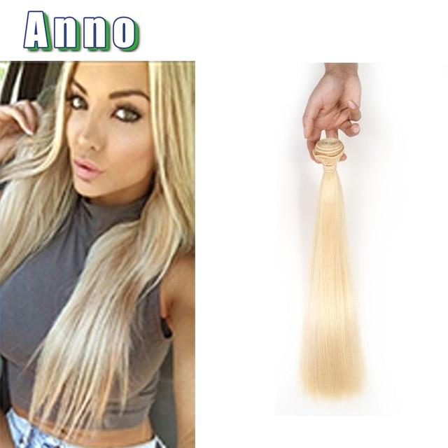 Virgin Hair Straight 1 Bundles 613 Blonde Virgin Hair Weave 12 30