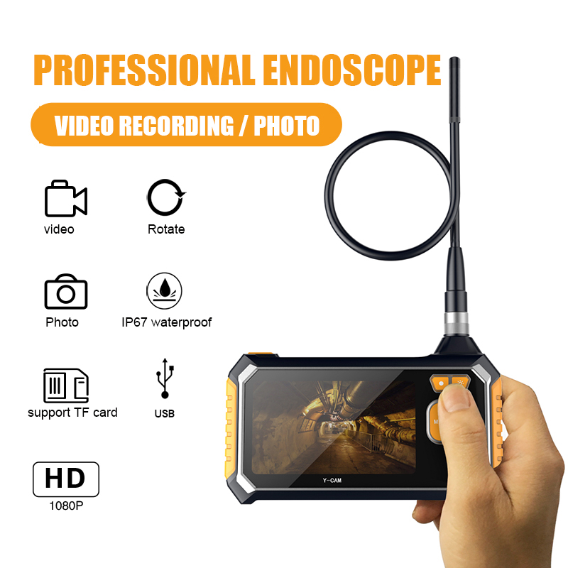 im113 Handheld Endoscope Camera  with 4.3inch monitor 8mm Lens 6LED Endoscope Borescope 3m Hard Cable Snake Industrial Endoscopeim113 Handheld Endoscope Camera  with 4.3inch monitor 8mm Lens 6LED Endoscope Borescope 3m Hard Cable Snake Industrial Endoscope