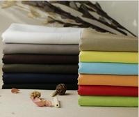 High Quality 100 Linen DIY Sewing Fabric Felt Linen Cotton Fabric For Dress Clothes 1 Meter