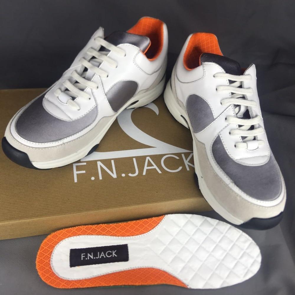F.N.JACK Damenmode Schuhe Lace Up Tie Flachen Trainer Turnschuhe für - Damenschuhe - Foto 5