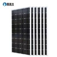 Xinpuguang 600 Вт Солнечный Системы комплект 6*100 Вт Панели солнечные монокристаллического кремния ячейки фотоэлектрических модулей крышей дома М