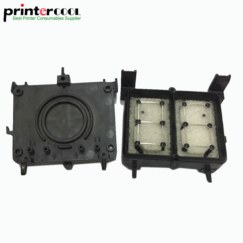 2pcs R1800 Capping Station Unit For Epson R1800 R1900 R2000 R2400 R2880 Priner R1900 cap top capping cap top cap station for epson stylus 7600 9600 solvent based ink printer capping