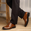 ANT FAMILY Hot Selling Large Size 48 Best Mens Flats Men Wedding Dress Shoes Fashion Basic Pointed Toe Lace-Up Solid PU Shoes