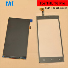 For THL T6 Pro LCD Display +Touch Screen+ Tools  Digitizer Assembly Replacement Accessories Phone PRO 5.0