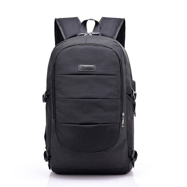 Men Business Knapsack With a Password Lock USB Chargeable Shoulders Bag Male Casual Versatile Travel Notebook Backpack E1225