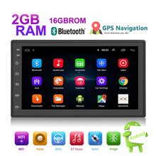2Din Android 8.1 7.1 Car Stereo 1080P 7 Inch Quad Core 2GB RAM Head Unit GPS Navigation Audio Radio For Nissan Toyota Volkswagen