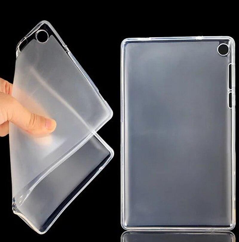 TPU Luxury Ultra Slim Waterproof Soft Silicone Rubber Silicon Shell Case Cover For Lenovo Tab 3 730F 730M Tab3 TB3-730F TB3-730M