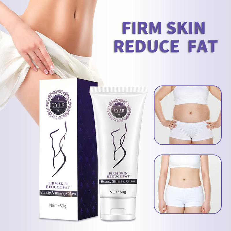 Beauty & Health 60ml Natural Formula Women Body Slimming Cream Fast Fat Burning Weight Loss Thin Waist Leg Belly Cream Anti Cellulite Massage Elegant In Smell Bath & Shower