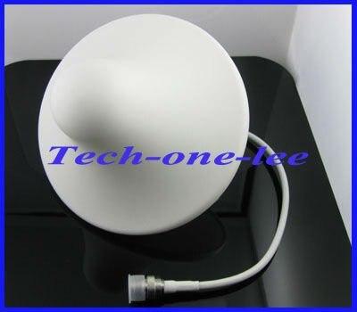 imágenes para 806-960 MHz/1710-2500 Mhz Antena Ceilling Interior GSM 3G 2100 mhz Conector Tipo N 3dBi Omni Antena Interna de la Señal Del Teléfono Móvil