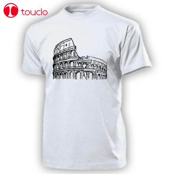 2019 männer Cool Tee Shirt Kolosseum Italien Rom Amphitheater Romischen Antike Baukunst Rom T Shirt T-Shirt Sweatshirt