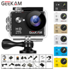 "GEEKAM W9 عمل كاميرا الترا HD 1080P 12MP WiFi 2.0 ""تحت الماء مقاوم للماء خوذة تسجيل الفيديو كاميرات كاميرا رياضية"
