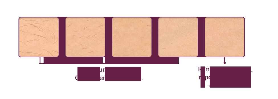 Résultats cliniques après les 5 premières séances