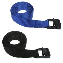 1PC High Quality Travel Tie Down Strap Ratchet Belt Luggage Bag Cargo Lashing Metal Buckle 1m to 5m buckle tie down belt car cargo strap strong ratchet belt luggage cargo lashing