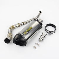 NMAX155 scooter 150cc 155cc gy6 Motorcycle Full Exhaust System Front Pipe Exhaust Connect Pipe Exhaust Muffler NMAX 155 N MAX155