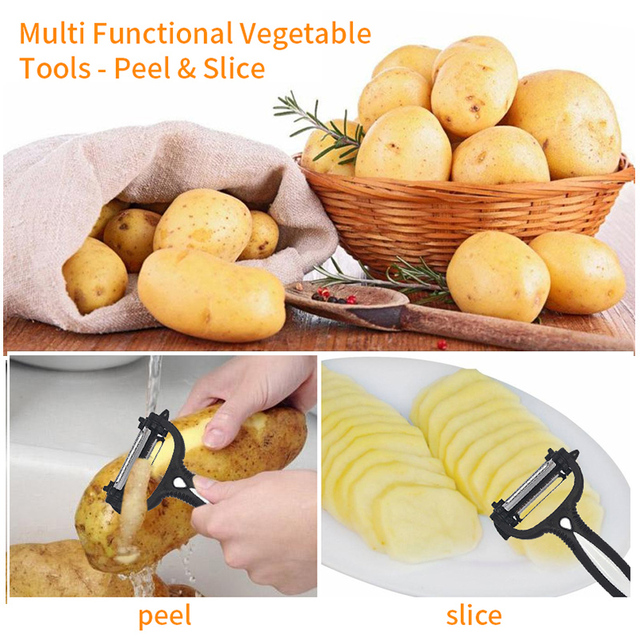 Multifunctional 360 Degree Rotary Grater Kitchen Tool 1