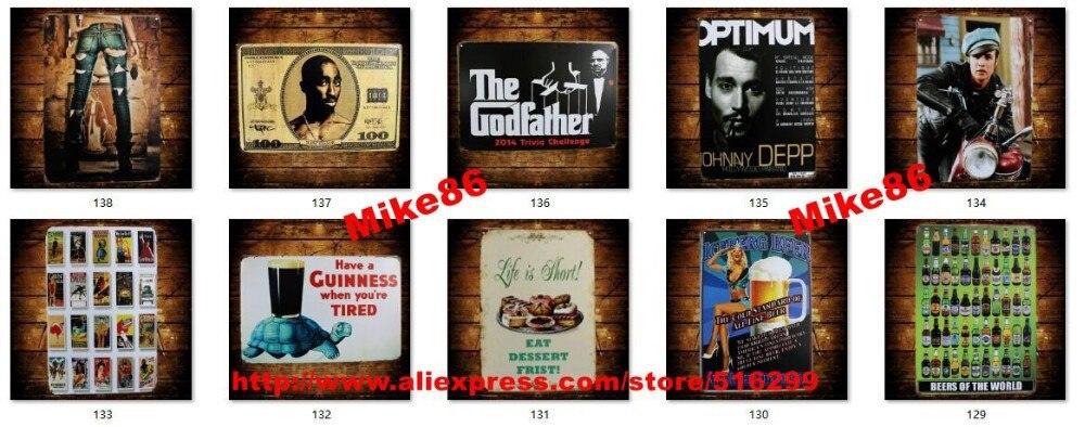 Bar Wall Decor aliexpress : buy [ mike86 ] roadhouse liquor poker lady wine