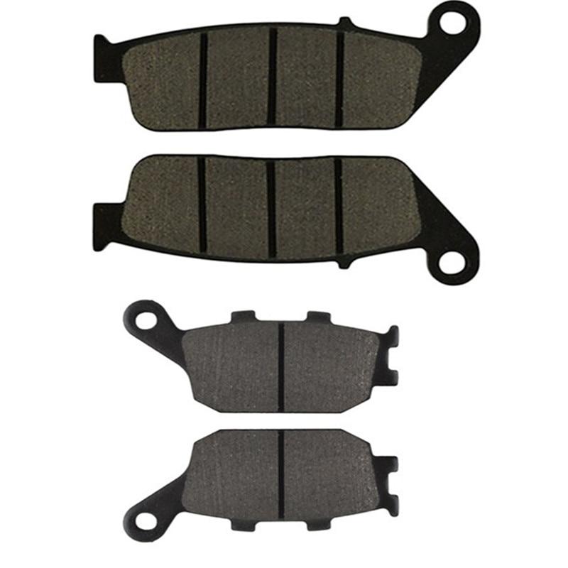 Motorcycle Front and Rear Brake Pads for HONDA VT1100C2 VT 1100 C2 Shadow Sabre 2000-2007 Street Bikes Brake Pad Kit