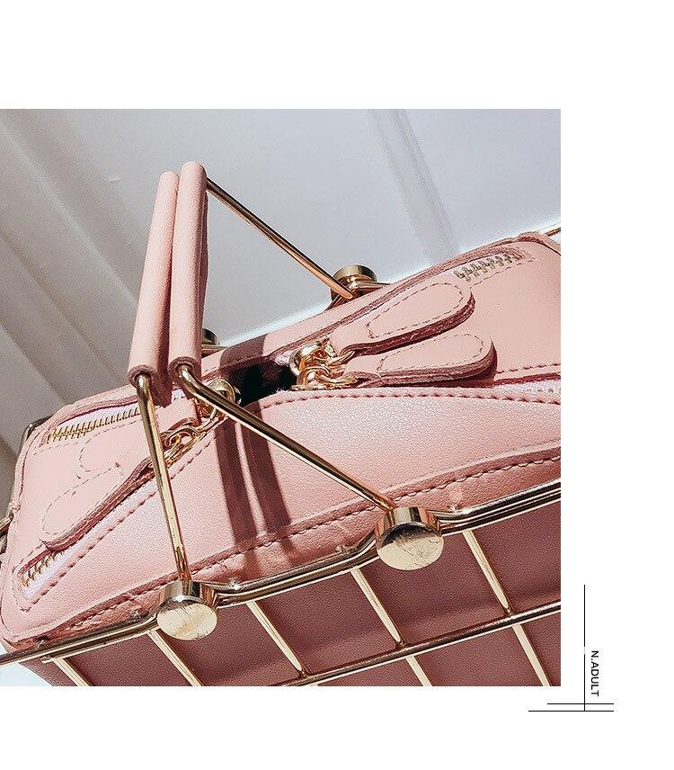 nova bolsa de alta qualidade couro do