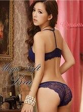 Hot Sale 8 Color Sexy Elegant Bra and Panty Set Women Bras Underwear Lady  push up bra Lingeries bra sets brief set lingerie set