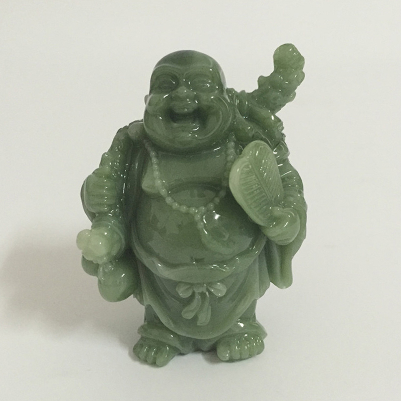 Chinese Feng Shui Laughing Buddha Statue Sculptures Handmade Crafts Home Decoration Lucky Maitreya Buddha Statues Figurines