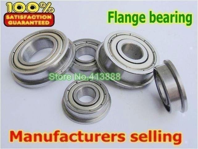 """FR4-2Z Flanged Bearings  2 pieces  1//4/"""" x 5//8/"""" NEW  FR4ZZ"""