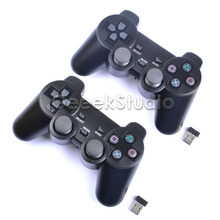 2 Pcs/Set! 2.4GHz Wireless Game Controller Gamepad Joystick Joypad for Raspberry Pi 3 Retropie PC