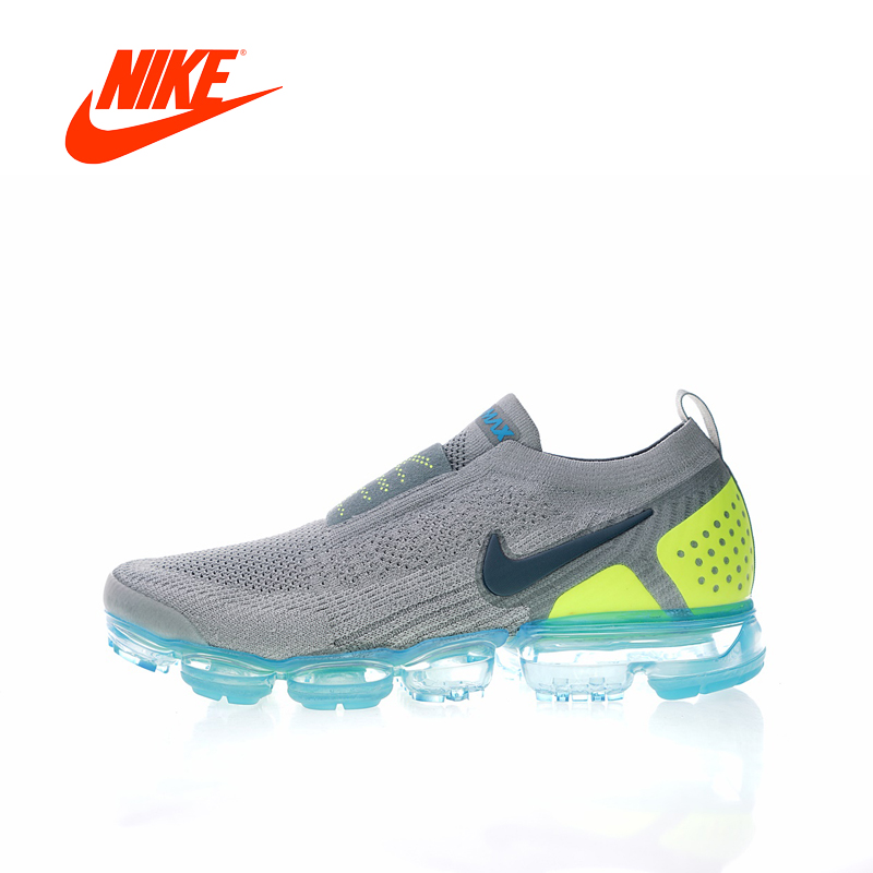 Original New Arrival Authentic NIKE AIR VAPORMAX FK MOC 2 Mens Running Shoes Sneakers Sport Outdoor Good Quality AH7006 цена