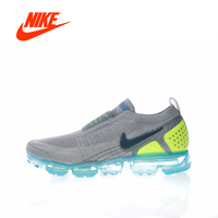 Original New Arrival Authentic NIKE AIR VAPORMAX FK MOC 2 Mens Running Shoes Sneakers Sport Outdoor Good Quality AH7006