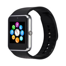 DHL Verschiffen Großhandel Smart Uhr GT08 Bluetooth Verbinden zu IOS Android Telefon Smartwatch A8 LF07 GV18 Armbanduhr 10 stücke viel