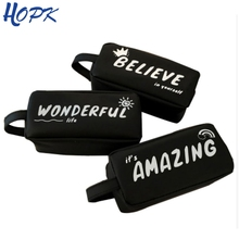 Black Big School Pencil Case for Girl Boy Gift School Stationery Supplies Silicone Cute Pencil Box Pencilcase Pencil Bags недорого