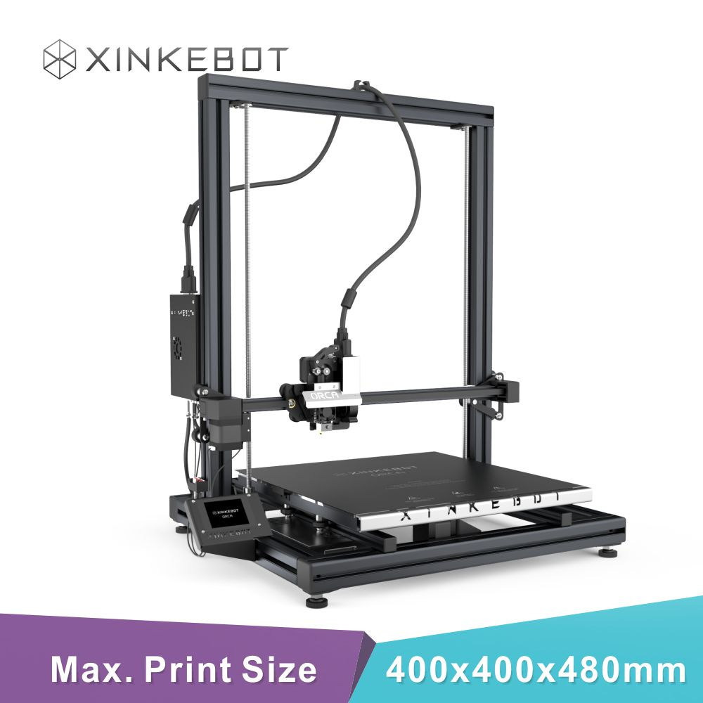 User friendly High Quality Xinkebot Orca2 Cygnus 3D Printer with Large Build Plate