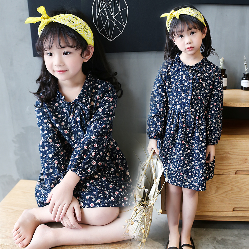 Girl Dress Spring 2017 New Children Clothes Kids Flower Dresses Princess Costume For Girls Vestido Holiday Party 8 10 12 14 Year