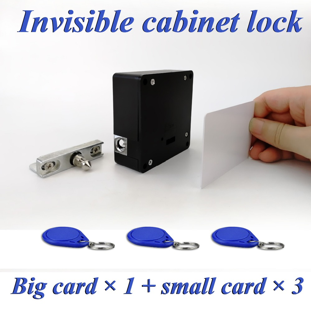 Newest DIY Hidden 13.56 MHz Electronic RFID Lock for Home Office Private RFID Drawer / Cupboard LockNewest DIY Hidden 13.56 MHz Electronic RFID Lock for Home Office Private RFID Drawer / Cupboard Lock