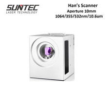 Suntec Hans Galvo Scan Head Scanner ultrascan For Laser Marking Machine 10mm Aperture with 1064nm 355nm 532nm 10.6um