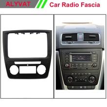 2 дин Радио фасции Для Skoda Yeti 2014 (Авто AC) autostereo адаптер CD отделкой Панель плиты фасции Рамки в тире Mount Kit