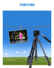 NEW Professional VCT-691 Camera Tripod Portable For Camera Photograph Nikon Sony Canon Samsung Russia Brazil  FREE SHIPPING