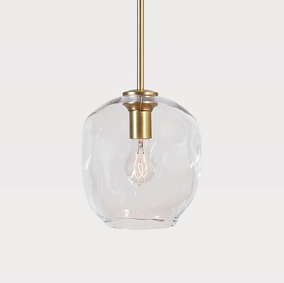 Only Transparent glass shadeOnly Transparent glass shade