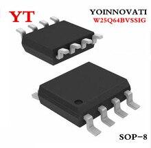 100 pçs/lote W25Q64BVSSIG W25Q64BVSIG 25Q64BVSIG SOP8 IC Melhor qualidade