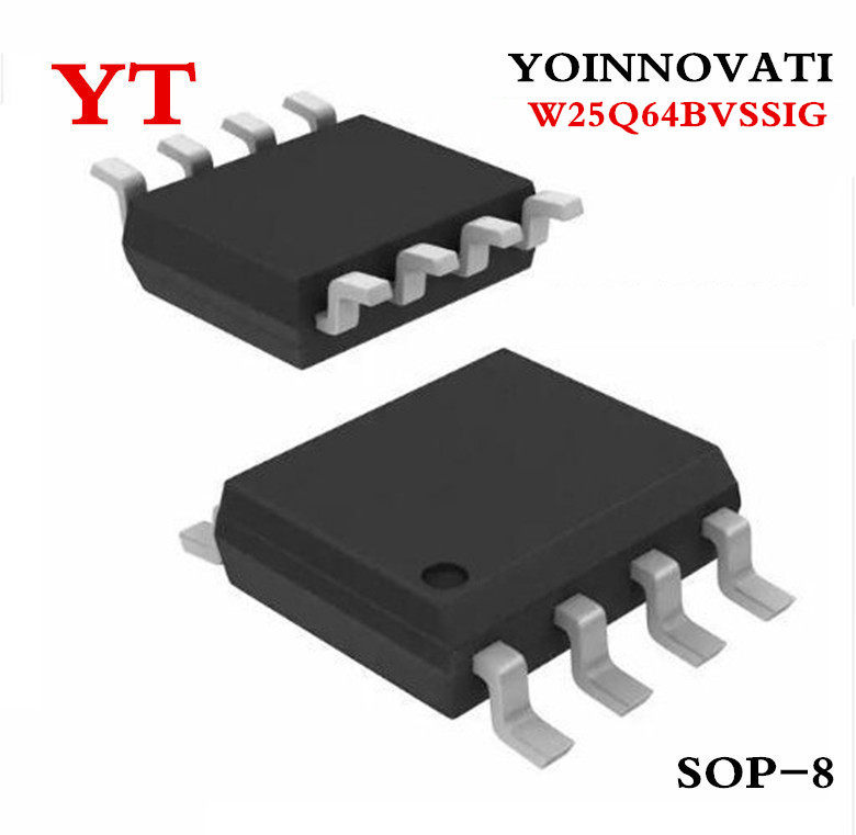 Free shipping 100pcs/lot W25Q64BVSSIG W25Q64BVSIG 25Q64BVSIG SOP8 IC Best quality-in Integrated Circuits from Electronic Components & Supplies