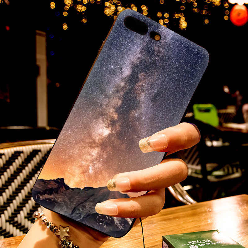 Us 1 41 29 Off Maiyaca Snow Mountain Chalet Aurora Milky Way Stars Arrival Phone Cover For Apple Iphone 8 7 6 6s Plus X 5 5s Se Xs Xr Xs Max In