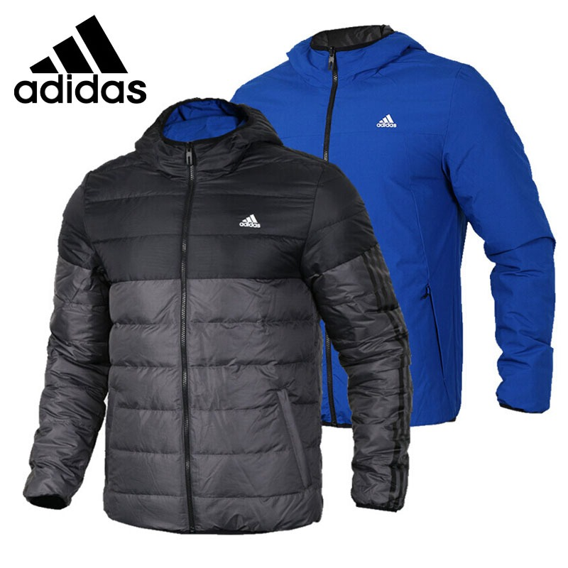 Original New Arrival  Adidas ITAVIC REV Men's Reversible Down coat Hiking Down Sportswear